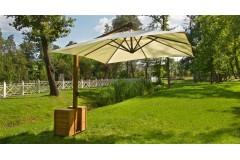 Зонт консольный «Мадрид-1», квадратный купол-3х3м