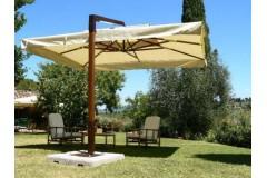 Консольный зонт «Милан», квадратный - 3,5х3,5м
