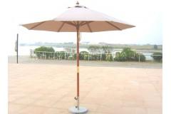 Уличный зонт «Портофино», круглый купол – 2,5м