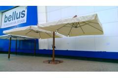 Зонт двухкупольный «Торонто», консольный – 3х8м