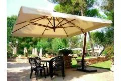 Зонт консольный «Верона», квадратный купол-4х4м
